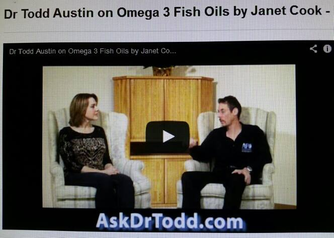 Ask Dr Todd (Austin) Show & host Janet Cook