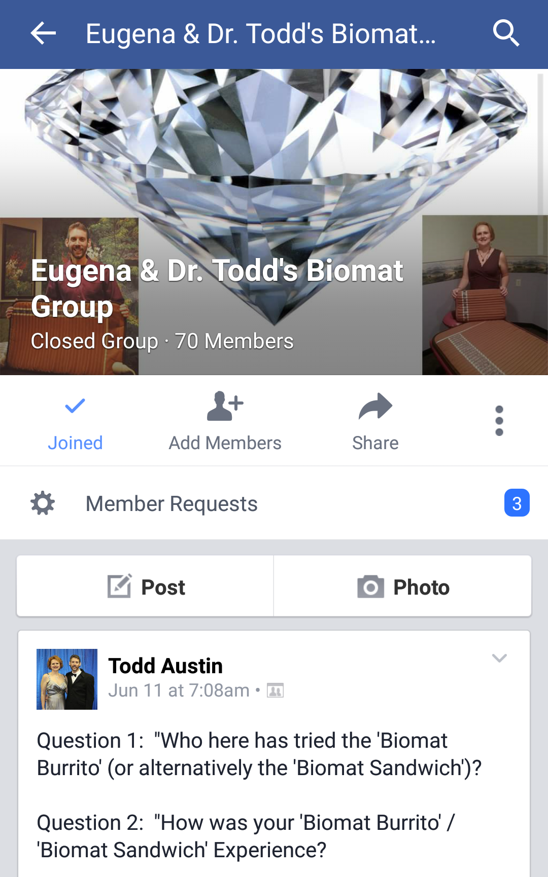 how to temporarily close a facebook group